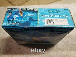 Vintage Rare Sand N Sun Jumbo Whale Ride On 84 X 43 AND 36 summer waves ball