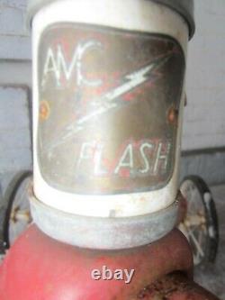 Vintage Red Tricycle AMC Flash 1950's