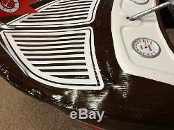 Vintage Restored Custom Chris Craft Pedal Car Boat Murray GAS OIL COLA SODA