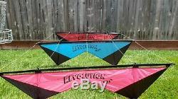 Vintage Revolution II quad line kite (Stack of 3)