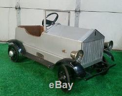Vintage Rolls Royce Rare Pedal Car Art Deco WILL SHIP