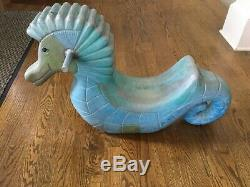 Vintage Seahorse Playground Spring Ride FREE SHIPPING