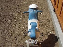 Vintage Shark Playground Spring Ride Gametime Saddle Mates USA