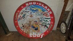 Vintage Sno-flake Saucer Garton Toy Company Sled