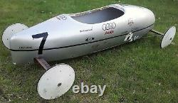 Vintage Soap Box Derby Racer Car Shipping Available