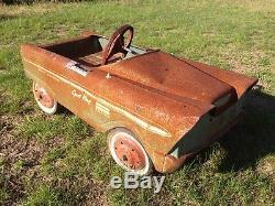Vintage Sport Fury pedal car