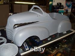 Vintage Steelcraft 41 Chrysler Pedal Car No Reserve