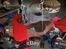 Vintage Steelcraft Pressed Steel Pedal Airplane