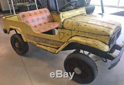 Vintage Steelton Toyota Fj40 Toyota Landcruiser Toy Pedal Car