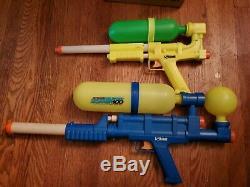 Vintage Super Soaker 100 & 50 Water Gun Original 1990's