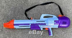 Vintage Super Soaker CPS 2000 1990s Larami Purple Gun Strap Cannon See Video