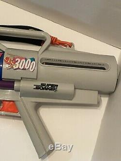 Vintage Super Soaker CPS 3000 With Backpack Water Gun Toy 1997 Rare BROKE! READ