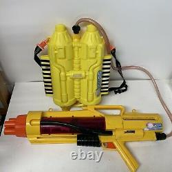Vintage Super Soaker CPS 3200 Water Gun withBackpack Complete & Working
