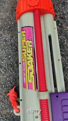 Vintage Super Soaker Larami Water Gun, 1997, Tested & Works