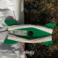 Vintage Tetrad Quad 4 Line Stunt Kite 69x36 WithInstructions Line & Handles Mint