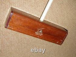 Vintage'The Croquet Association' NZ Made'Wood Mallet' Company Croquet Mallet