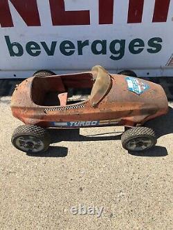 Vintage Turbo Pedal Car