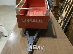 Vintage U Haul Pedal Car Trailer Hamilton