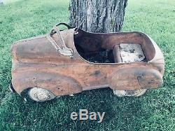 Vintage Very RARE 100% Original 1941 Chrysler Pedal Car Super Awesome