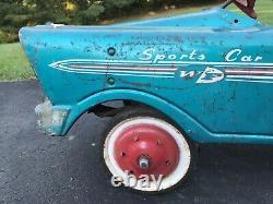Vintage Western Flyer Radio Full Ball Bearing Sports Pedal Car