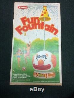 Vintage Wham-o Fun Fountain 1979 Original Parts And Box