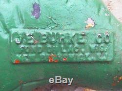 Vintage Worm Playground Spring Ride Swing JE Burke USA