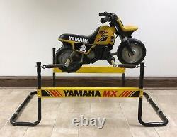 Vintage Yamaha MX Dirt Bike Childs Ride-on Hobby Horse Motorcycle (rare Item!)