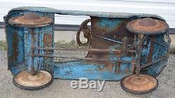 Vintage c1954 Murray 610 Jet Flow Drive Champion Pedal Car