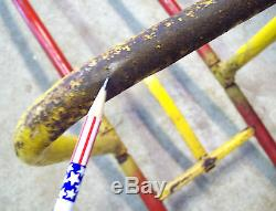 Vintage c1960 Wheelmaster Roller Coaster withTrack Backyard Playground Ride-On Toy