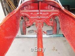 Vintage murray, garton, amf pedal car chain drive 50s