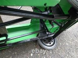 Vintage new pedal car machine 1970s toy pedal car Raduga car