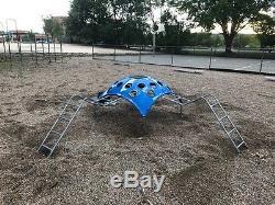 Vintage outdoor playground equipment