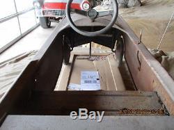 Vintage pedal car