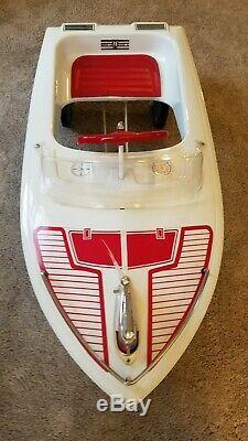 Vintage pedal car. Jolly Roger Pedal Boat