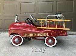 Vintage (replica) Volunteer Fire Truck Pedal car