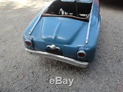 Vintage toy pedal car russian pedal car moskvich pedal car sdudebaker pedal car