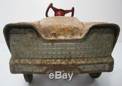 Vtg 1960s Murray Woody Dude Wagon Pedal Car Childs Toy Parts Restoration Display