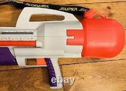 Vtg 90s Larami Super Soaker CPS 2500 Large Water Gun Strap good pressure Works