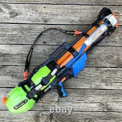 Vtg Larami Super Soaker Water-Gun Monster X 9982-0 With Strap Tested Works 1999