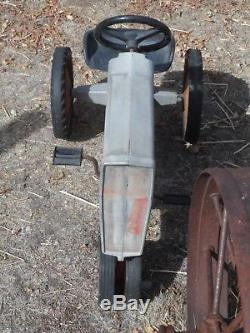 Vtg Massey Ferguson Ertl Pedal Tractor 1100 Farm Susanville Reno Redding Chico