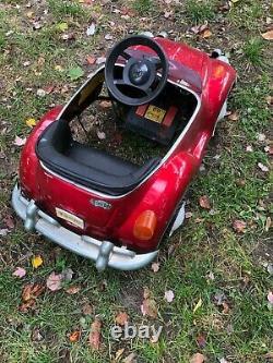 Vw Bug (volkswagen) Vintage Battery Op Pedal Car, Nice, Untested, L@@k, Read