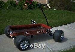 Wagon, radio flyer, custom, FORMULA C Impala GT Vintage Indy Coaster Wagon