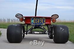 Wagon, radio flyer, custom, vintage, hot rod, Aston-Hoosier Indy Coaster