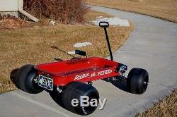 Wagon, radio flyer, custom, vintage, hot rod, FORMULA C SHANGHI GT Indy Coaster