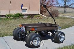 Wagon, radio flyer, custom, vintage, hot rod, F-TYPE Indy Coaster