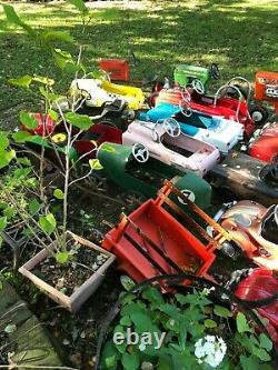 Wow! Just Acquired 30 Piece Vintage Pedal Car Collection, Buy One, Some, Or All